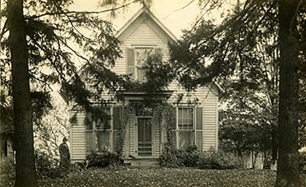 Residence of George A. Coble, M.D.  circa 193os (photo courtesy of Robin Engls)