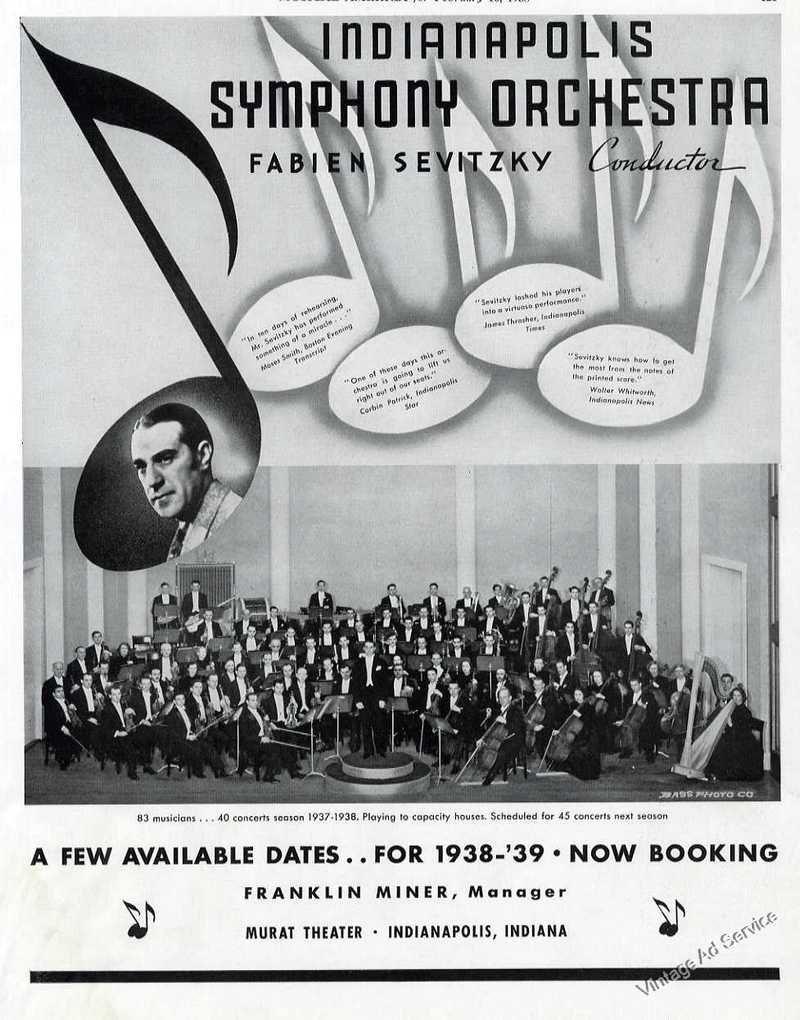 Sunday Adverts: Symphony on the Prairie (Literally)