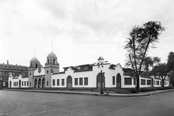 Cadle Tabernacle was the site of the Music Memory Contest finals during the 1950s (W. H. Bass Company Collection, Indiana Historical Society)