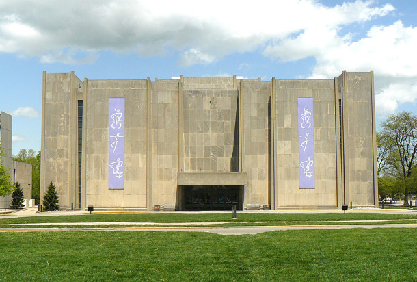 Clowes Memorial Hall was the site of Music Memory Contest finals in its latter years (image courtesy of ArtSmart Indiana)