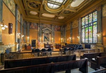 "The Courtroom Where Jack Daniels ""Got Served"""