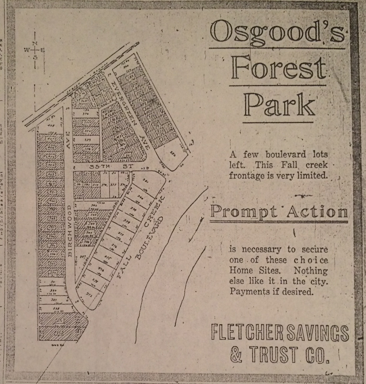 Misc. Monday: Move to a New Subdivision! In 1916