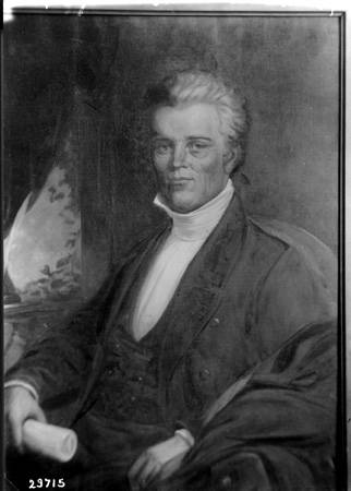 Governor Noah Noble. Image: W.H. Bass Photo Company Collection, Indiana Historical Society.