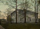 This postcard image shows the John Herron Art Institute as it appeared in 1906 (courtesy ebay)
