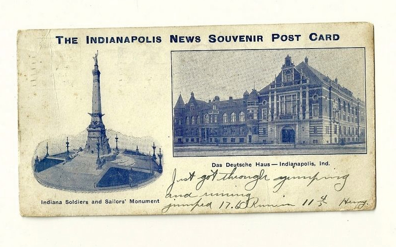 Penny Post: An Indianapolis Souvenir