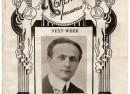 This advertisement promoting the famous Harry Houdini's performances at B.F. Keith's Theater (March 1925) was an Ebay find.