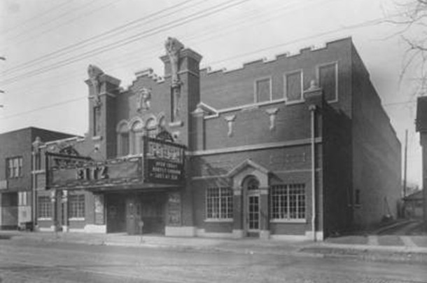 Photo of the Ritz Theatre, soon after it opened on February 22, 1927 (W. H. Bass Photo Company Collection, courtesy of the Indiana Historical Society)