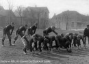 Playing football in what became Finch Park, ca. 1915 (The Indiana Album: Loaned by Elizabeth Laslie)