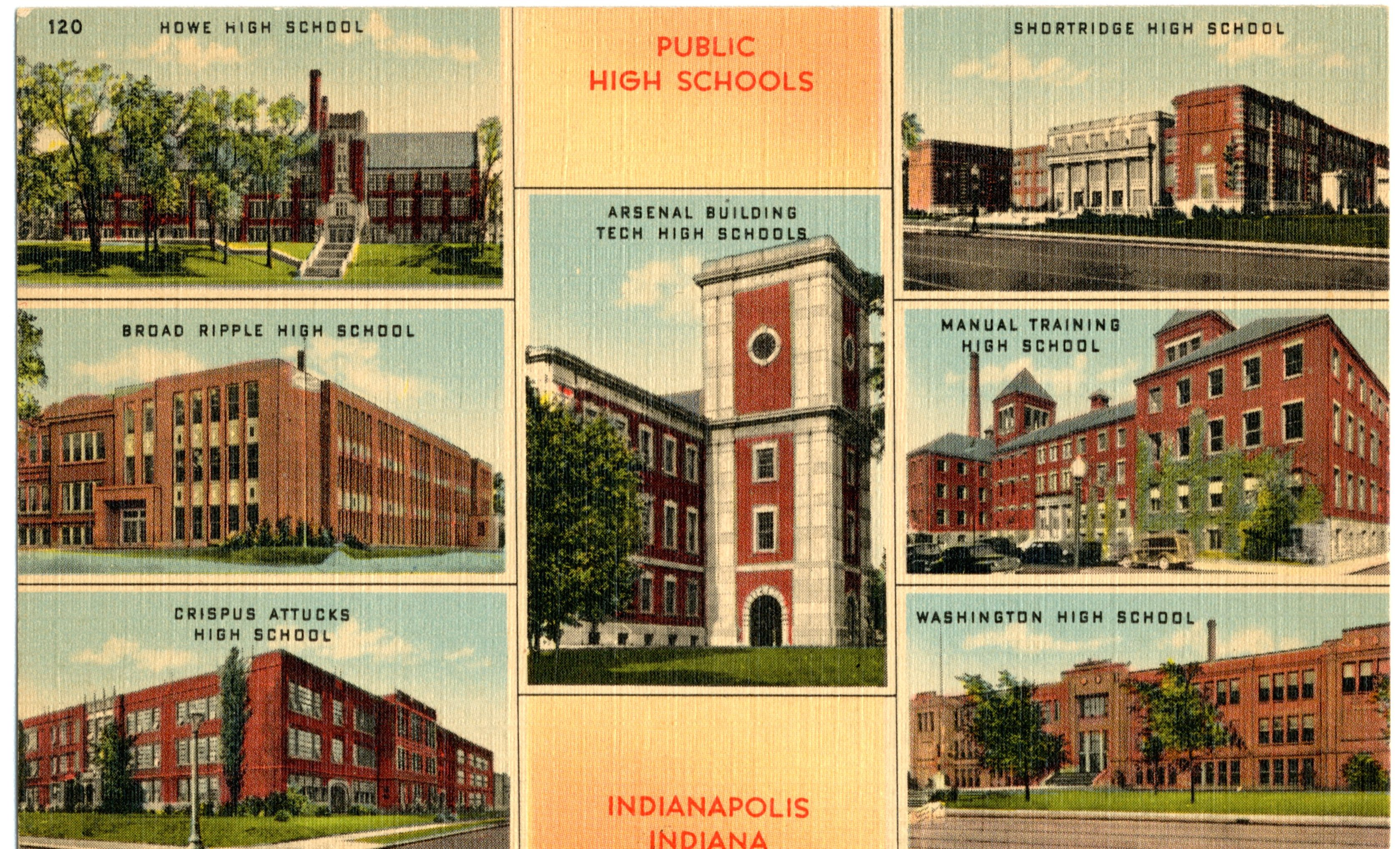 Misc. Monday: Early Indy High Schools
