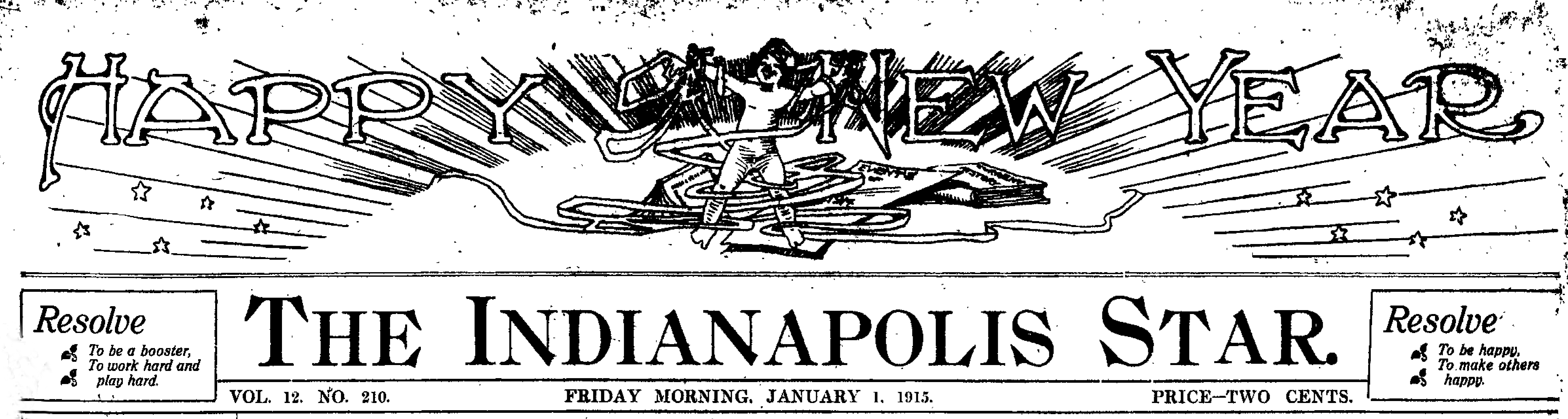 Sunday Adverts: Happy New Year 1915