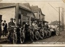 James W Kern's Bicycle Repair Shop, ca. 1920 (The Indiana Album: Loaned by Nancy Netter)