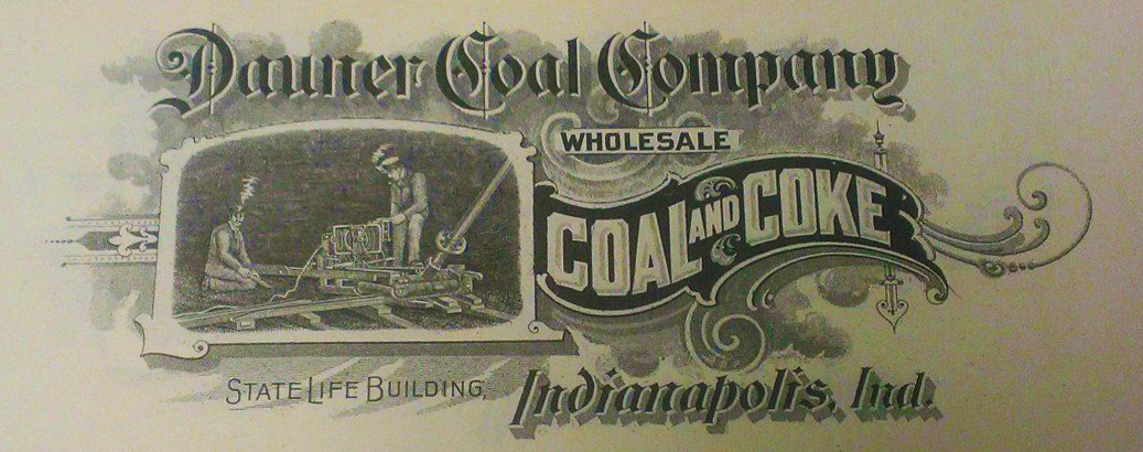 Sunday Ads: Loveliest Logo – Dauner Coal