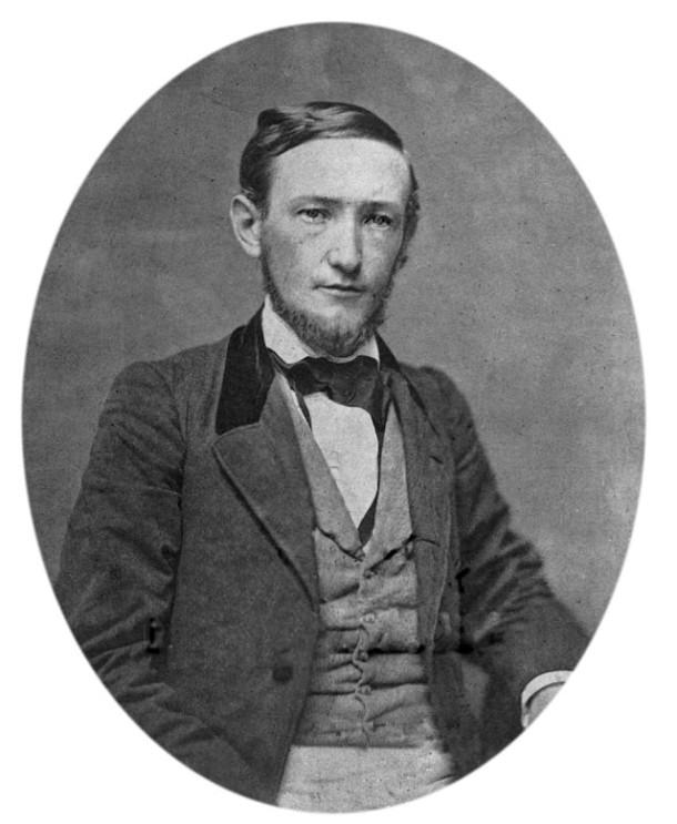 Circa 1850 daguerreotype of Benjamin Harrison (Wikipedia)