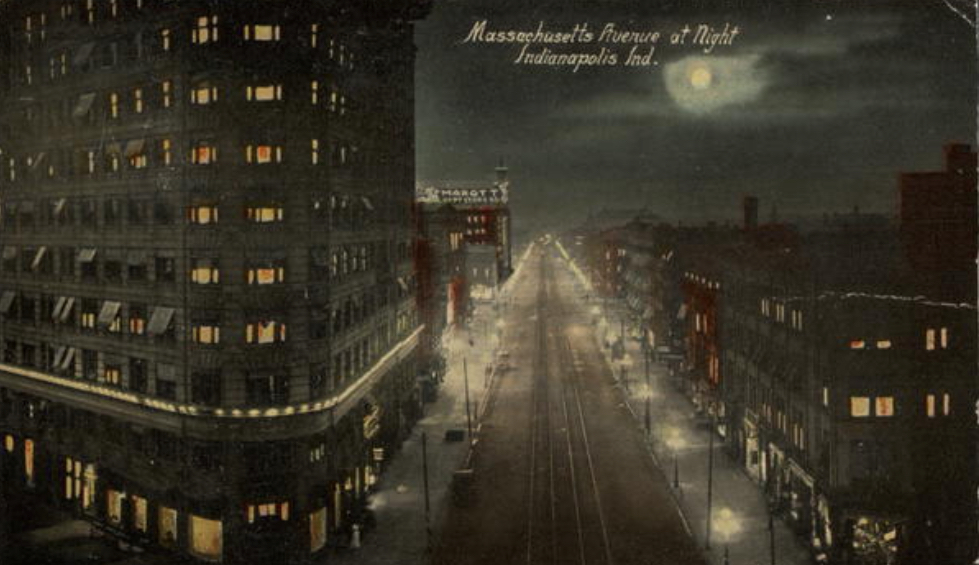 Penny Post: Mass Ave at Night