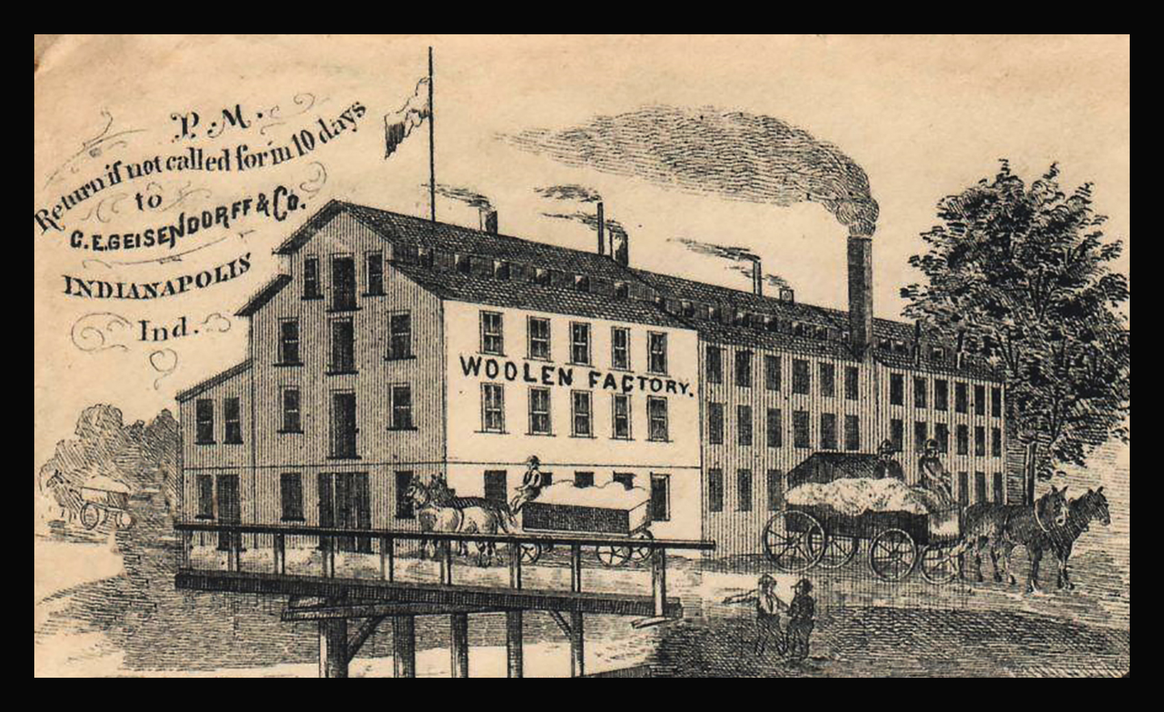 Sunday Adverts: Geisendorff… Just Milling Around