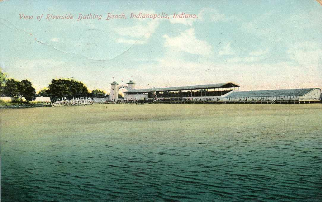 Penny Post: Riverside Bathing Beach