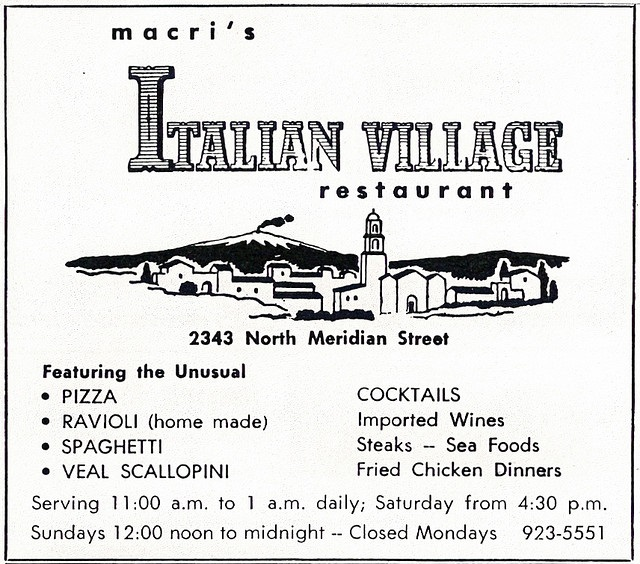 At Your Leisure: Scenes from an Italian Restaurant