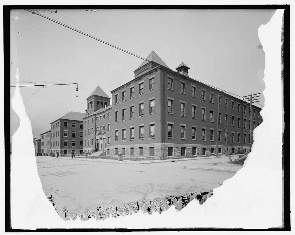 Indianapolis Then and Now: Charles E. Emmerich Manual Training High School