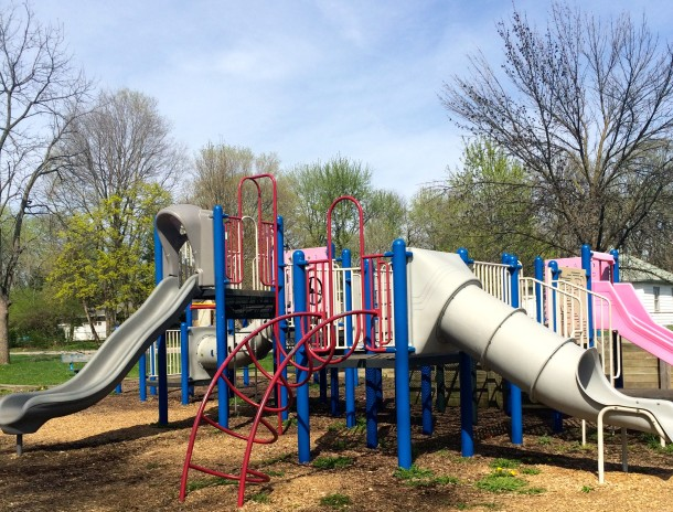 The playground at Forest Manor Park