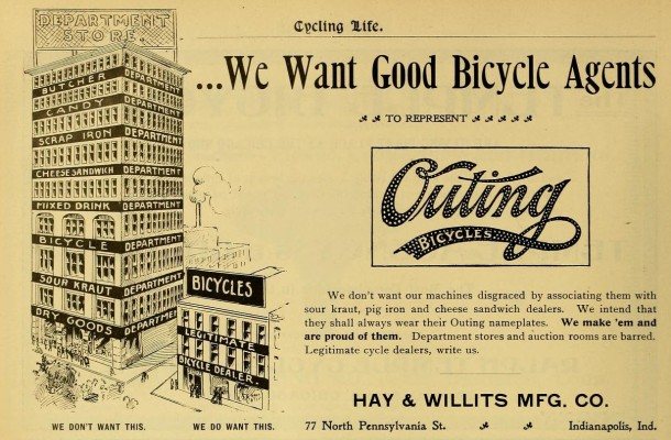 Cycling Life - December 24, 1896