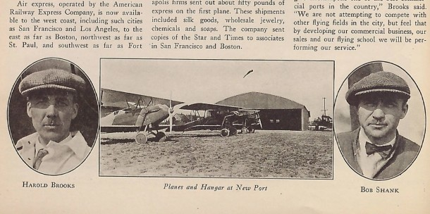 Hoosier Airport -- 1928
