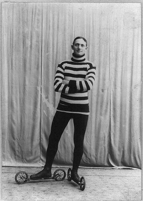 Roller Skates US 1905 -- Bain Collection Library of Congress