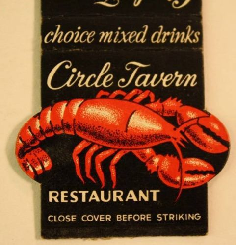 Seafood was the specialty of the house at The Circle Tavern (Courtesy Amazon)