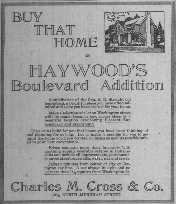 Indianapolis News, April 21, 1917