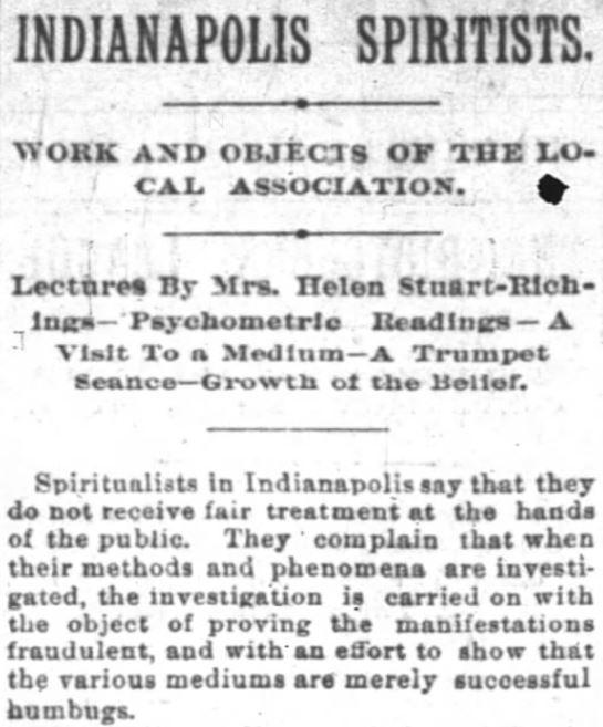 Indianapolis News, February 19, 1894