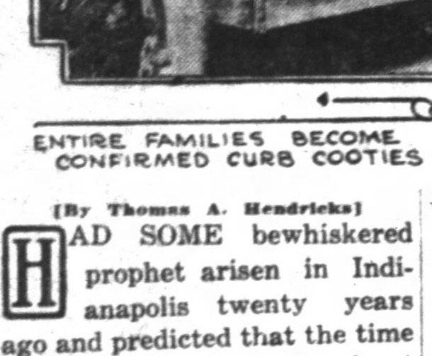 Indianapolis News, September 30, 1922