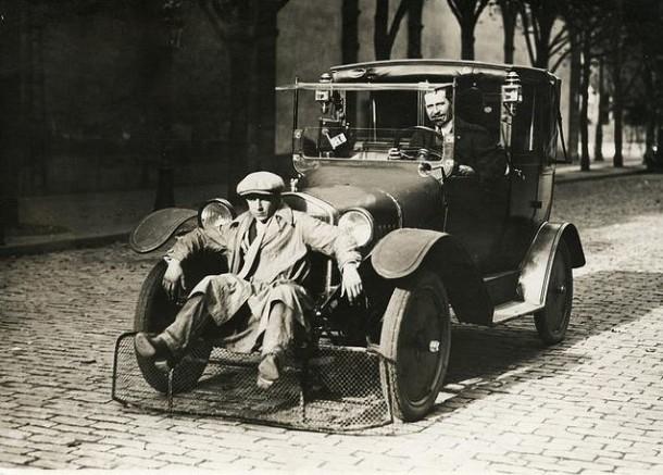 People Scooper for Cars, Paris, 1924