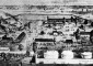 This illustration depicts a bird's eye view of the 1867 fair held at Camp Morton(Courtesy Indiana State Library)