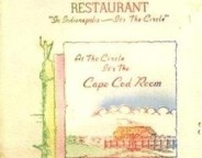 A 1950s era menu from the Circle Tavern (Courtesy eBay)