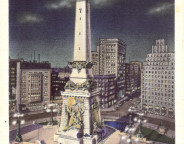 The Indiana Soldiers and Sailors Monument (attribution: )