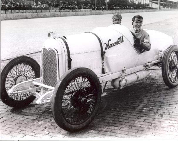 1916 Eddie Rickenbacker in Maxwell