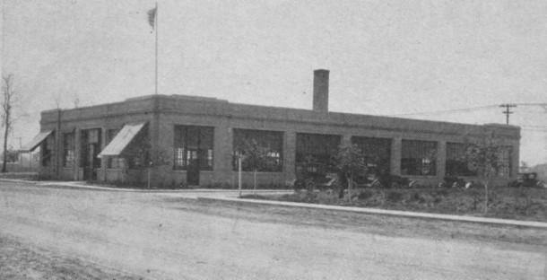 Allison Race Car Shop in 1917
