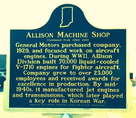 Allison State Marker side 2