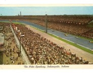 The Motor Speedway, Indianapolis, Indiana (attribution: http://www.ebay.com/usr/goodhandstoys)