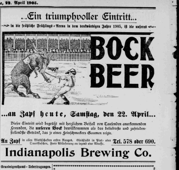 Indiana Tribune, April 22, 1905