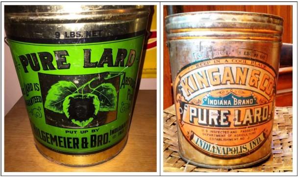Lard buckets