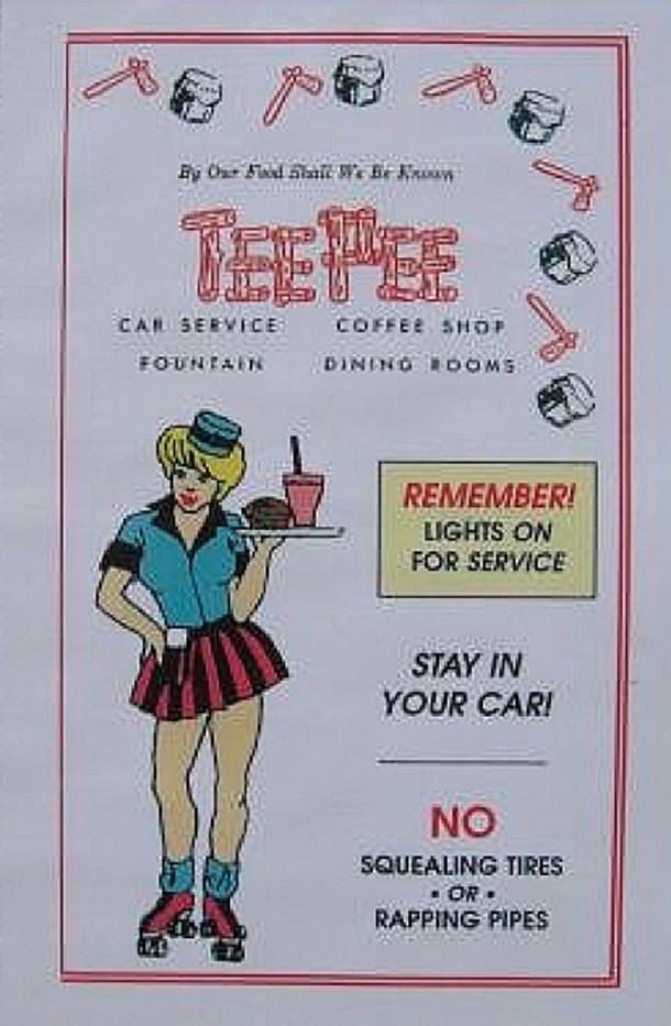 (Tee Pee poster courtesy of RogerLandry.com)