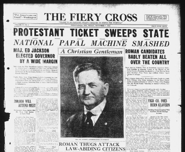 The Fiery Cross, November 7, 1924