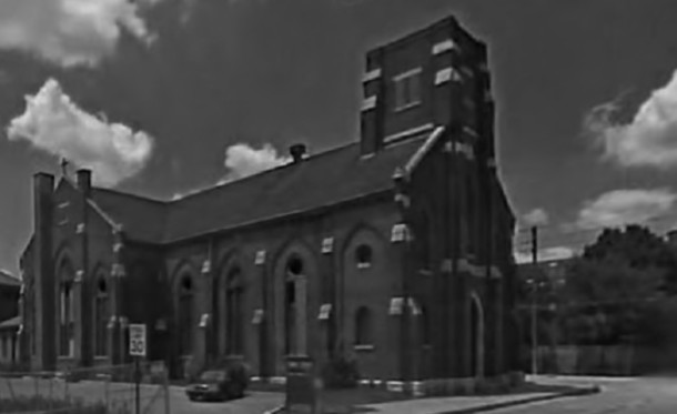 The dilapidated state of St. Joseph's Church probably lead to the wild speculation that the building was haunted.