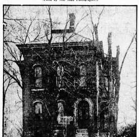 Frederick Ruschaupt's home was at 2051 Hillside Avenue (courtesy of newspapers.com)
