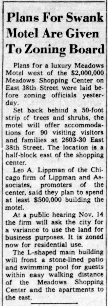 (1958 Indianapolis Star clipping courtesy of newspapers.com)