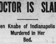 Doctor is Slain