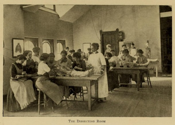 Women in Dissecting Room