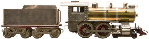 1915 Lionel #7 O-gauge model train courtesy of www.lionel.com