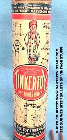 1915 Tinker Toy set