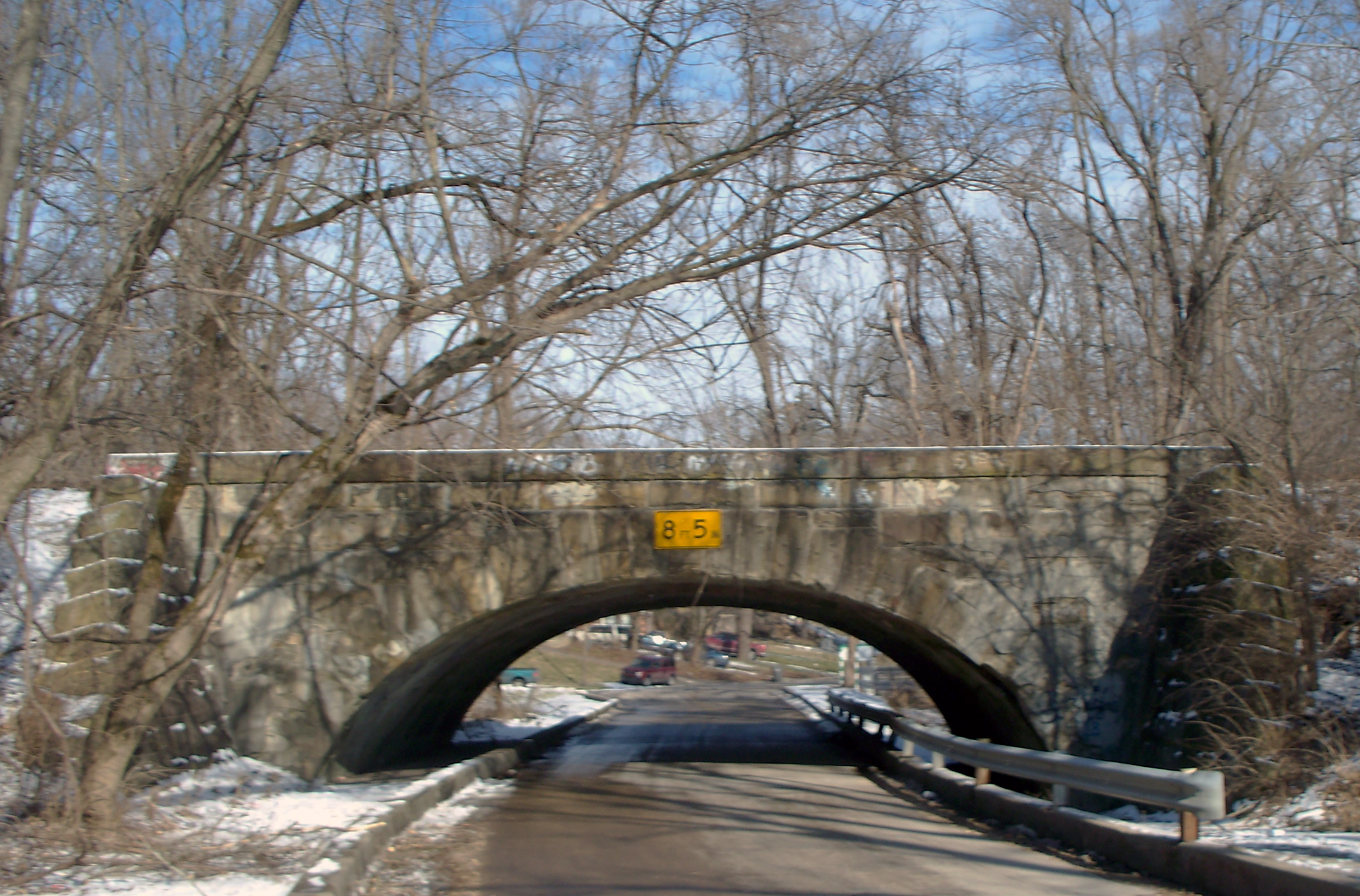 HI Mailbag:  Stone Bridge Over Pleasant Run